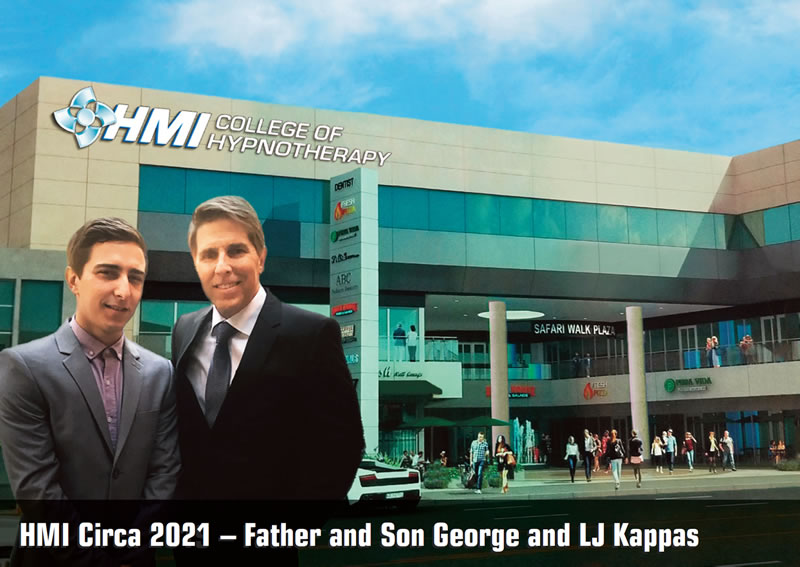 HMI Circa 2019 - Father and Son, George and LJ Kappas