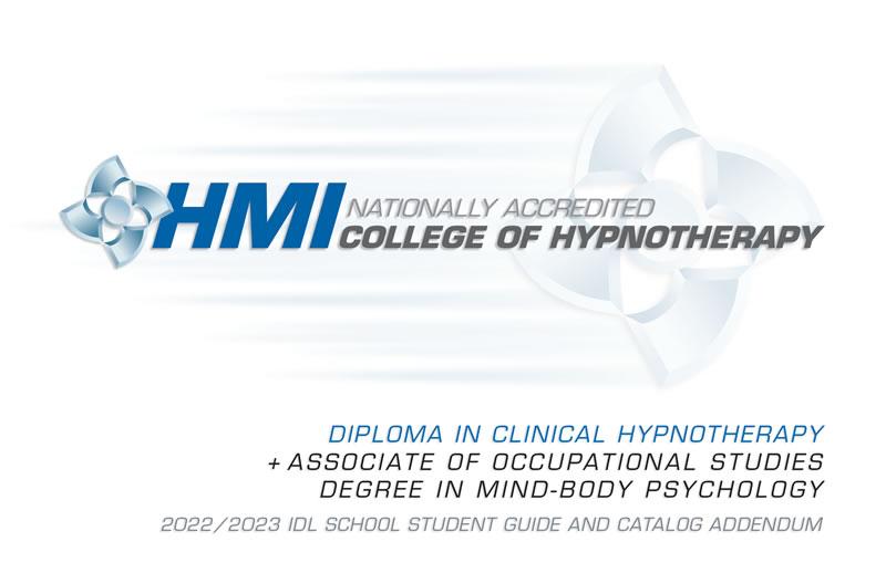 HMI School Catalog Addendum Cover