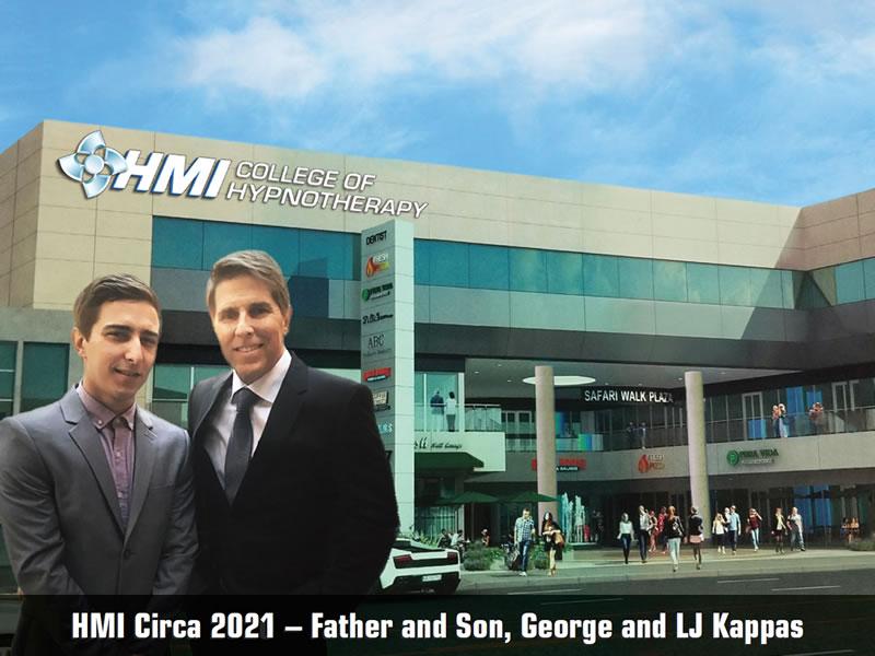 HMI Circa 2019 - Father and Son, George and LJ Kappas